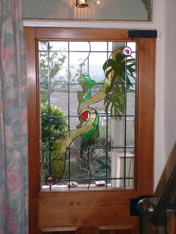 Traditional front door panel