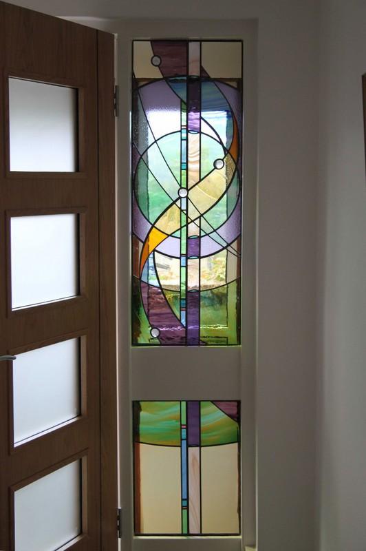 Abstract Doorway Panels
