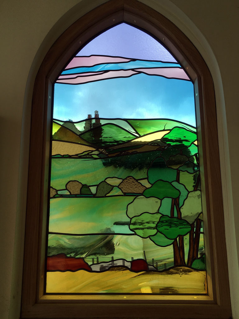 Dave Griffin Stained Glass Artist Based In Derbyshire Uk